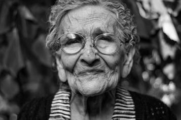 picture of an old lady